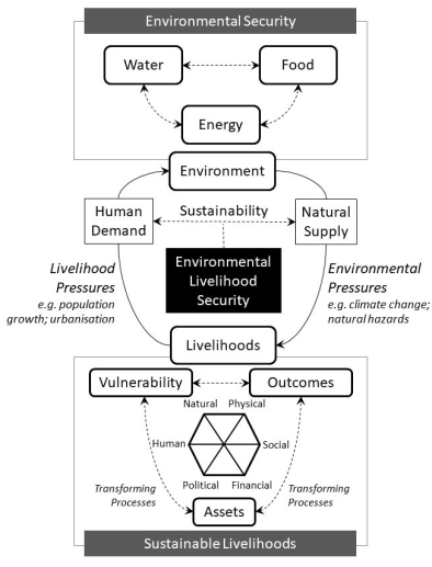 Environmental livelihood security
