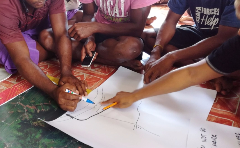Participatory mapping will help capture information